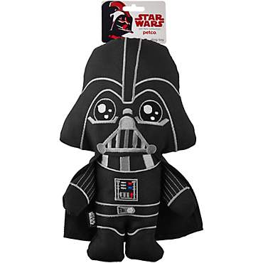 Star Wars Darth Vader Bottle Cruncher Dog Toy
