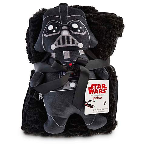 Star Wars Darth Vader Throw and Pillow for Dogs