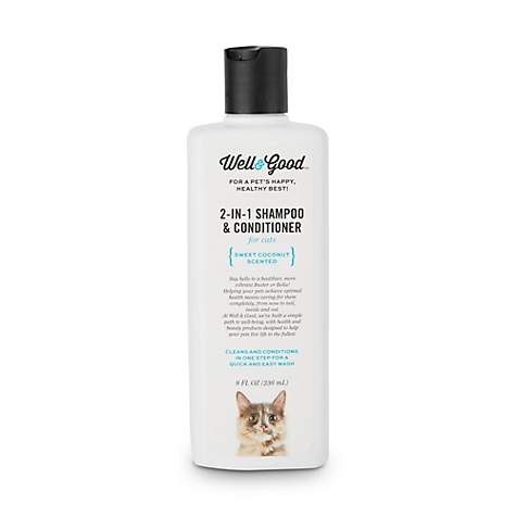 Well & Good 2-in-1 Shampoo and Conditioner for Cats