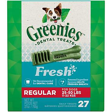 Greenies Fresh Regular Dental Dog Treats