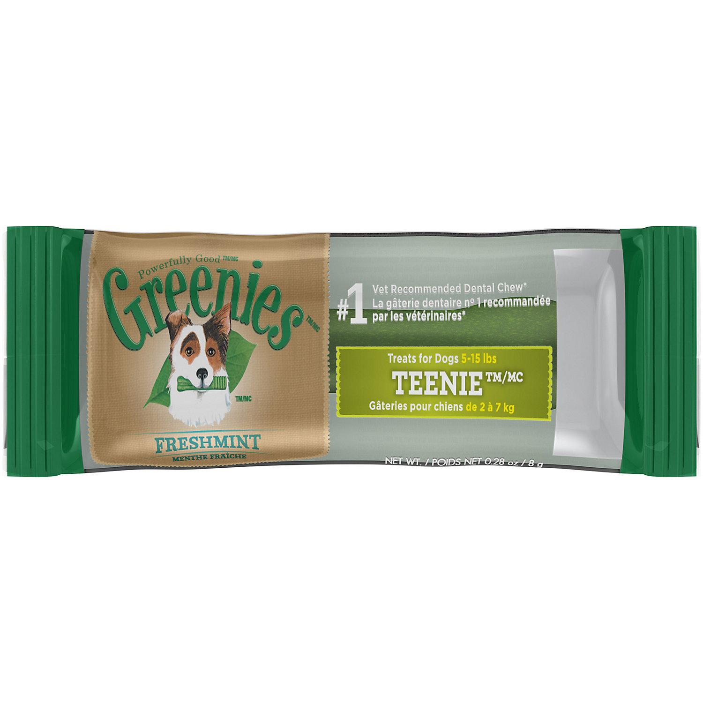 Greenies Fresh Teenie Dental Dog Chews 0.28 Oz.