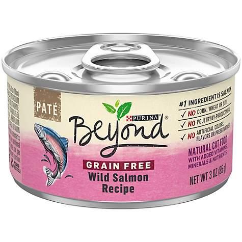 Purina Beyond Grain Free Wild Salmon Recipe Adult Wet Cat