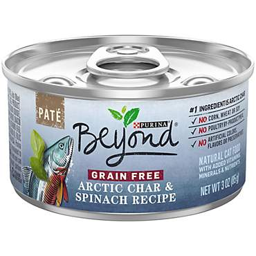 Beyond Pate Grain Free Arctic Char & Spinach Recipe Adult Wet Cat Food
