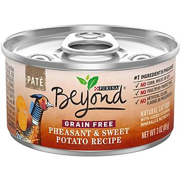 Beyond Grain Free Pate Pheasant & Sweet Potato Recipe Adult Wet Cat Food