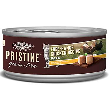 Castor & Pollux Pristine Grain Free Chicken Pate Wet Canned Cat Food