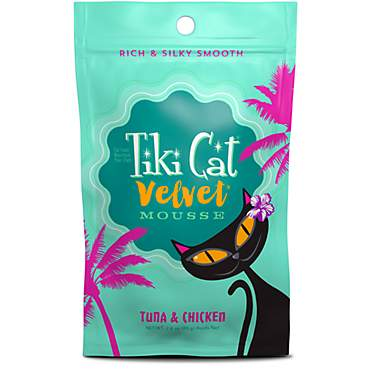 Tiki Cat Velvet Mousse Tuna & Chicken Wet Cat Food Pouch
