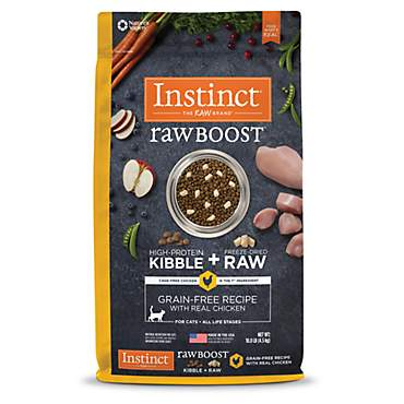 Instinct Raw Boost Grain Free Recipe with Real Chicken Natural Dry Cat Food by Nature's Variety