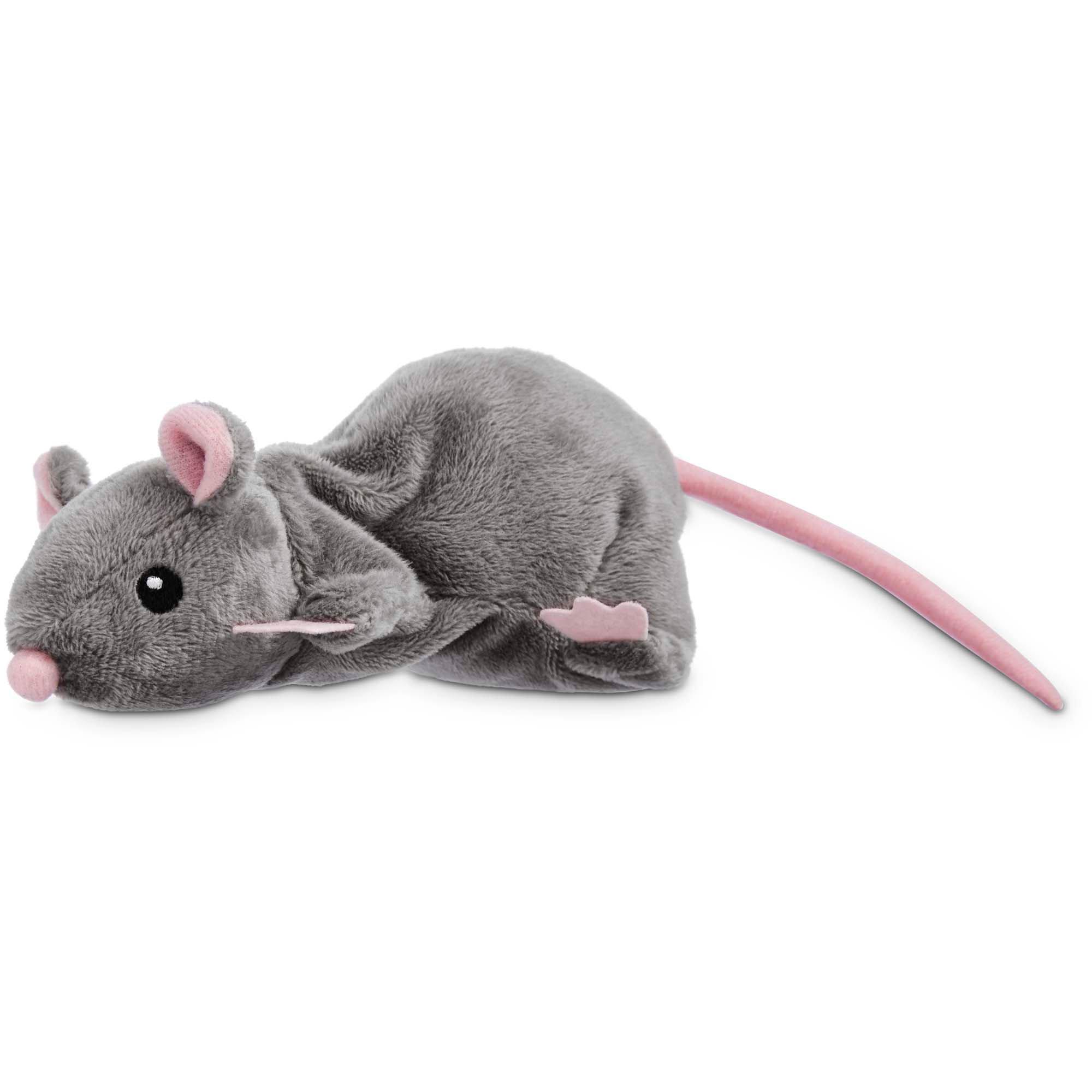 Leaps & Bounds Grey Rat Cat Toy | Petco