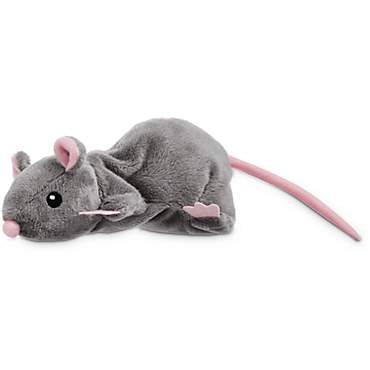 Leaps & Bounds Grey Rat Cat Toy