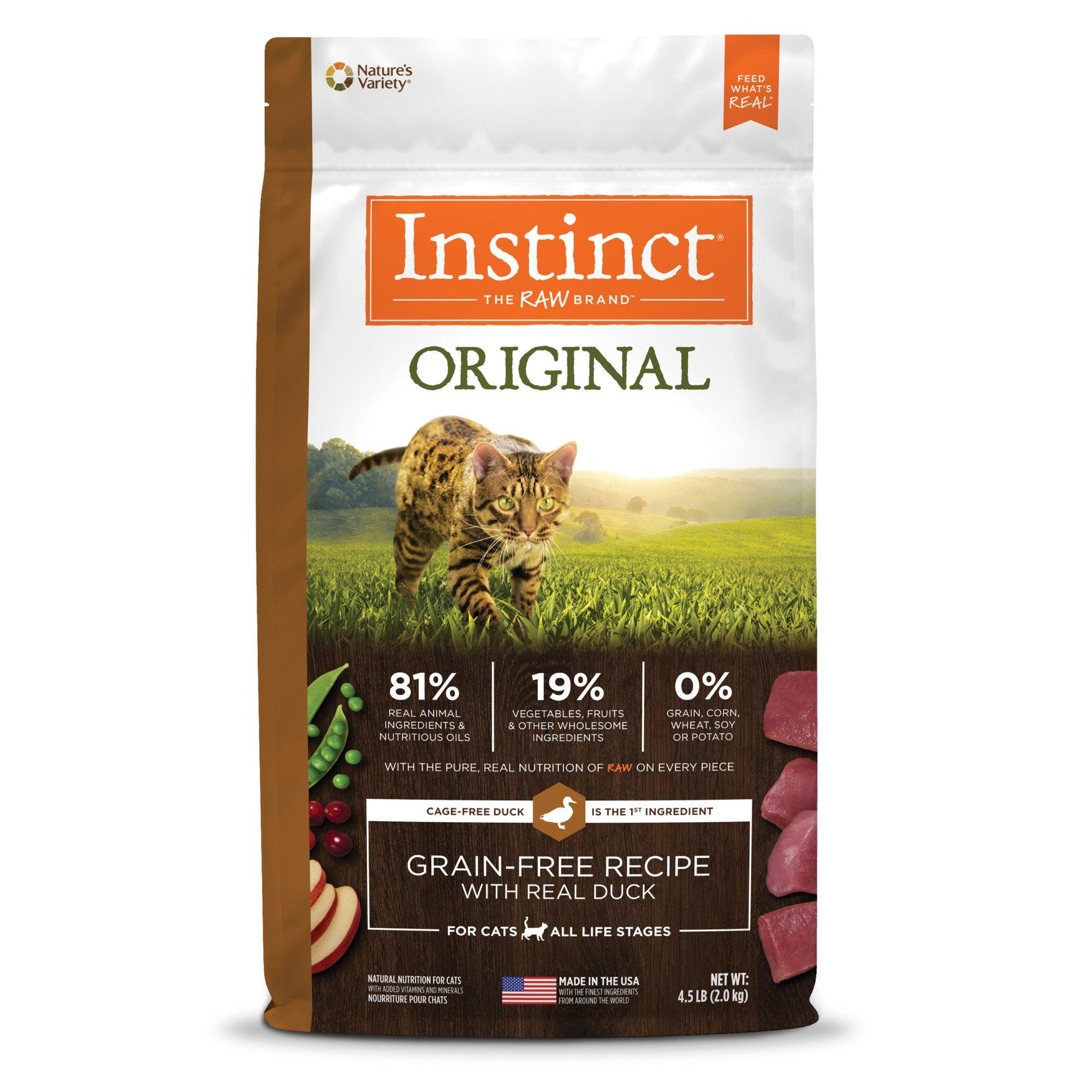 Instinct Grain Free Dry Cat Food By Nature
