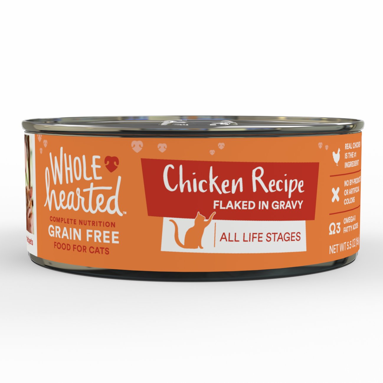 Wholehearted All Life Stages Canned Cat Food Grain Free