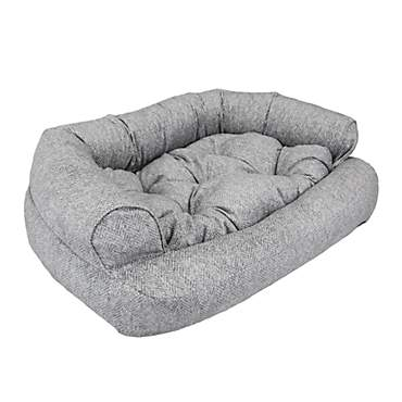 Snoozer Luxury Overstuffed Pet Sofa In Palmer Dove