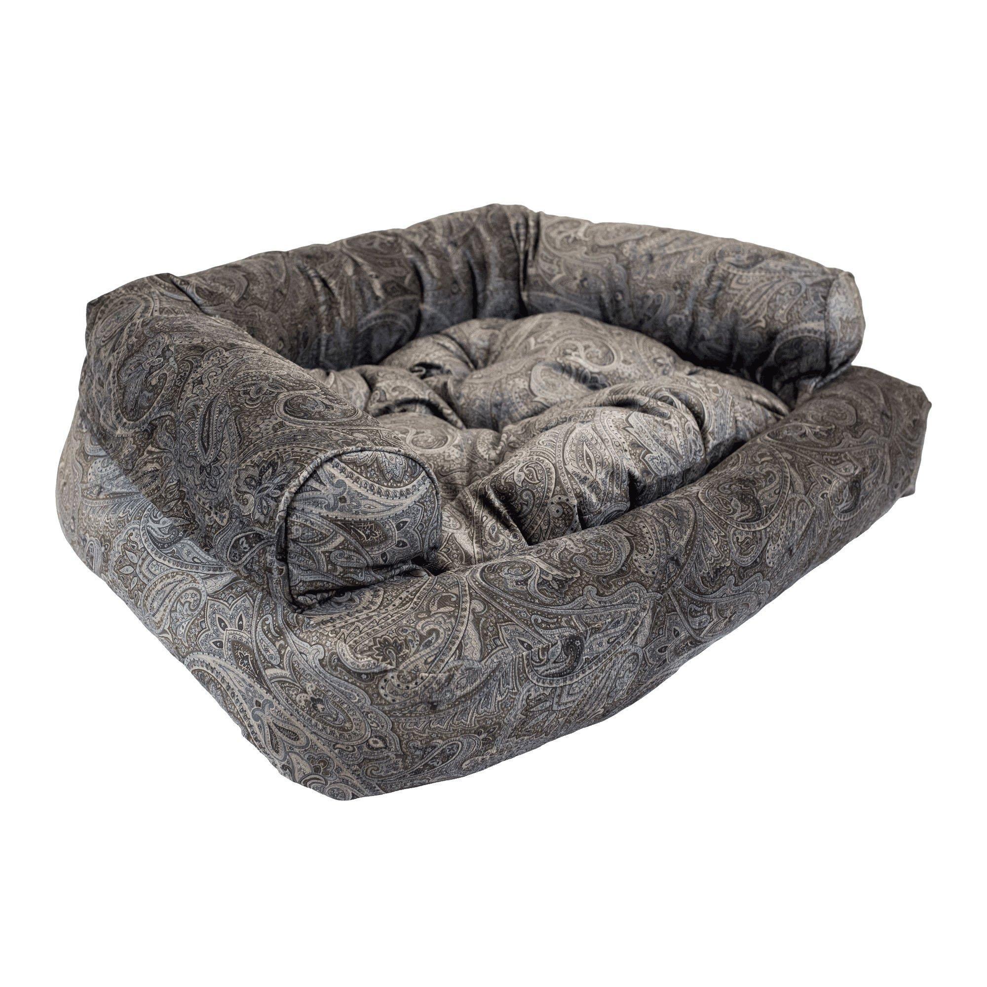 Remarkable Snoozer Luxury Overstuffed Pet Sofa In Laurel Mocha Petco Download Free Architecture Designs Fluibritishbridgeorg