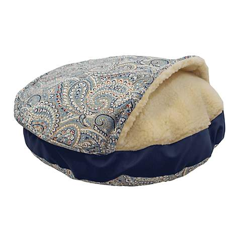 Snoozer Indoor Outdoor Cozy Cave Pet Bed in Nessa Arbor