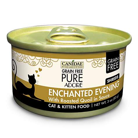 CANIDAE Grain Free PURE Adore Enchanted Evening With Roasted Quail Wet Cat Food