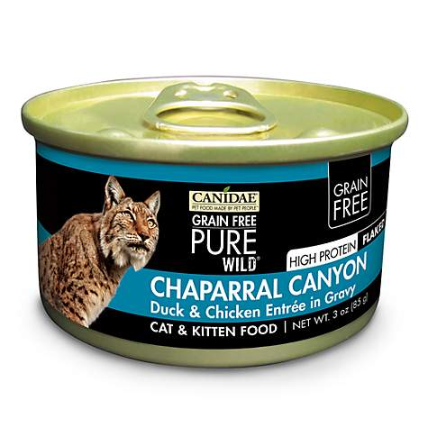 CANIDAE Grain Free PURE WILD Chaparral Canyon With Duck & Chicken Wet Cat Food