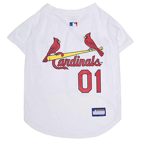 the latest 5cfc8 6f187 Pets First St. Louis Cardinals Jersey, X-Small