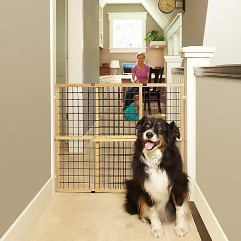 North States Extra-Wide Wire Mesh Petgate
