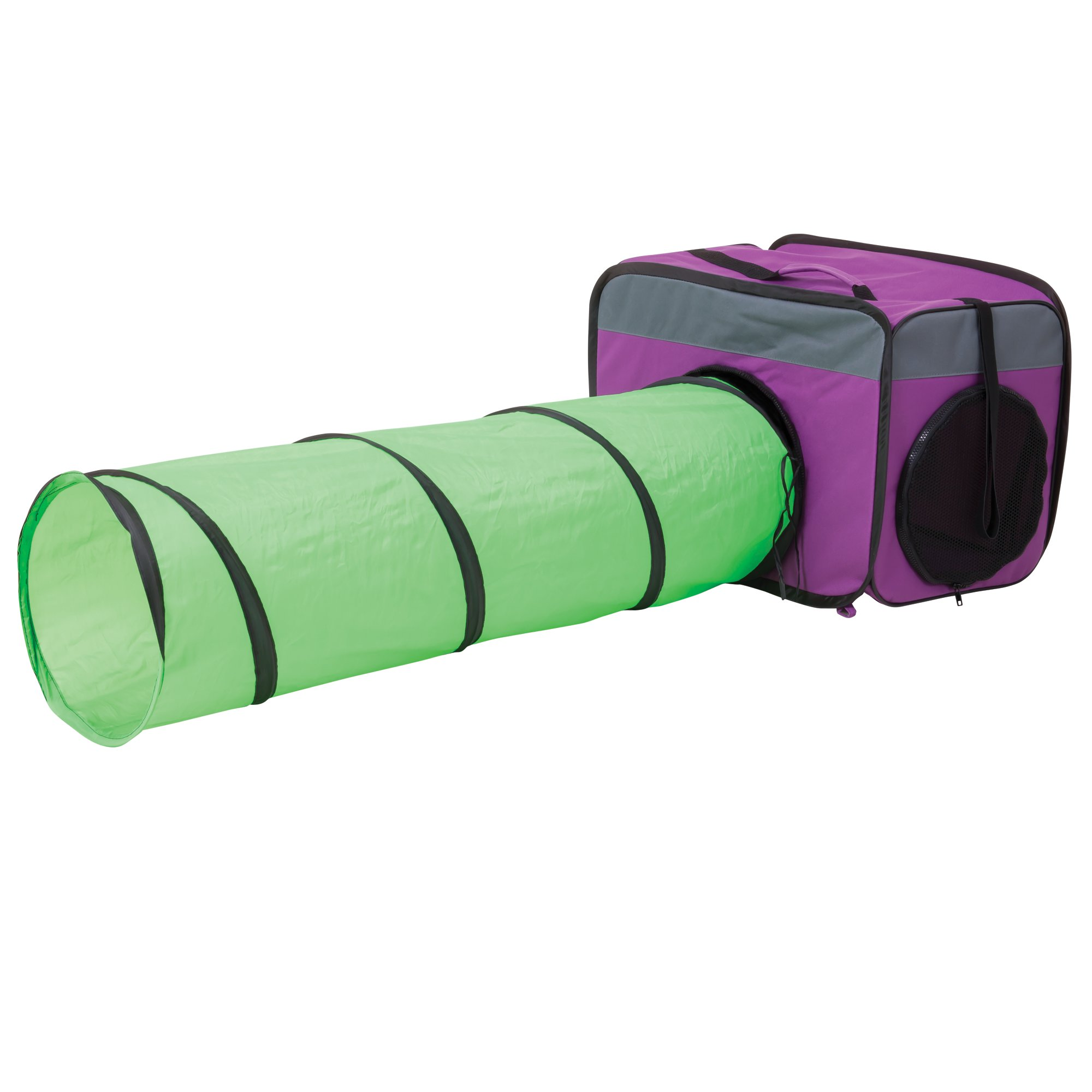 Jackson galaxy camp base hub with tunnel petco for Jackson galaxy phone number