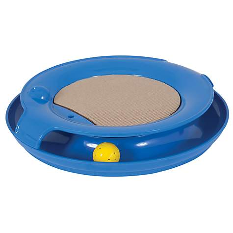 Jackson galaxy spiral blue petco for Jackson galaxy pet toys