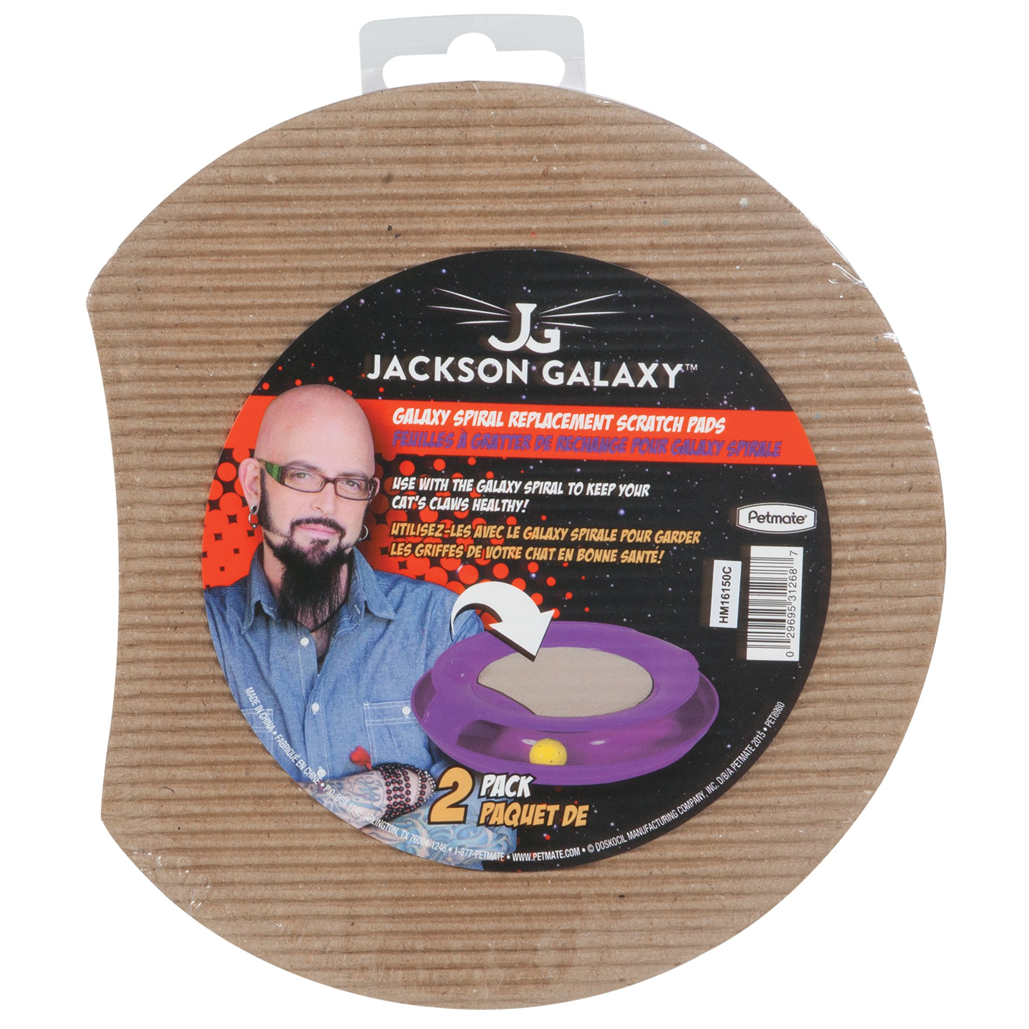 Jackson galaxy spiral corrugate petco for Jackson galaxy phone number