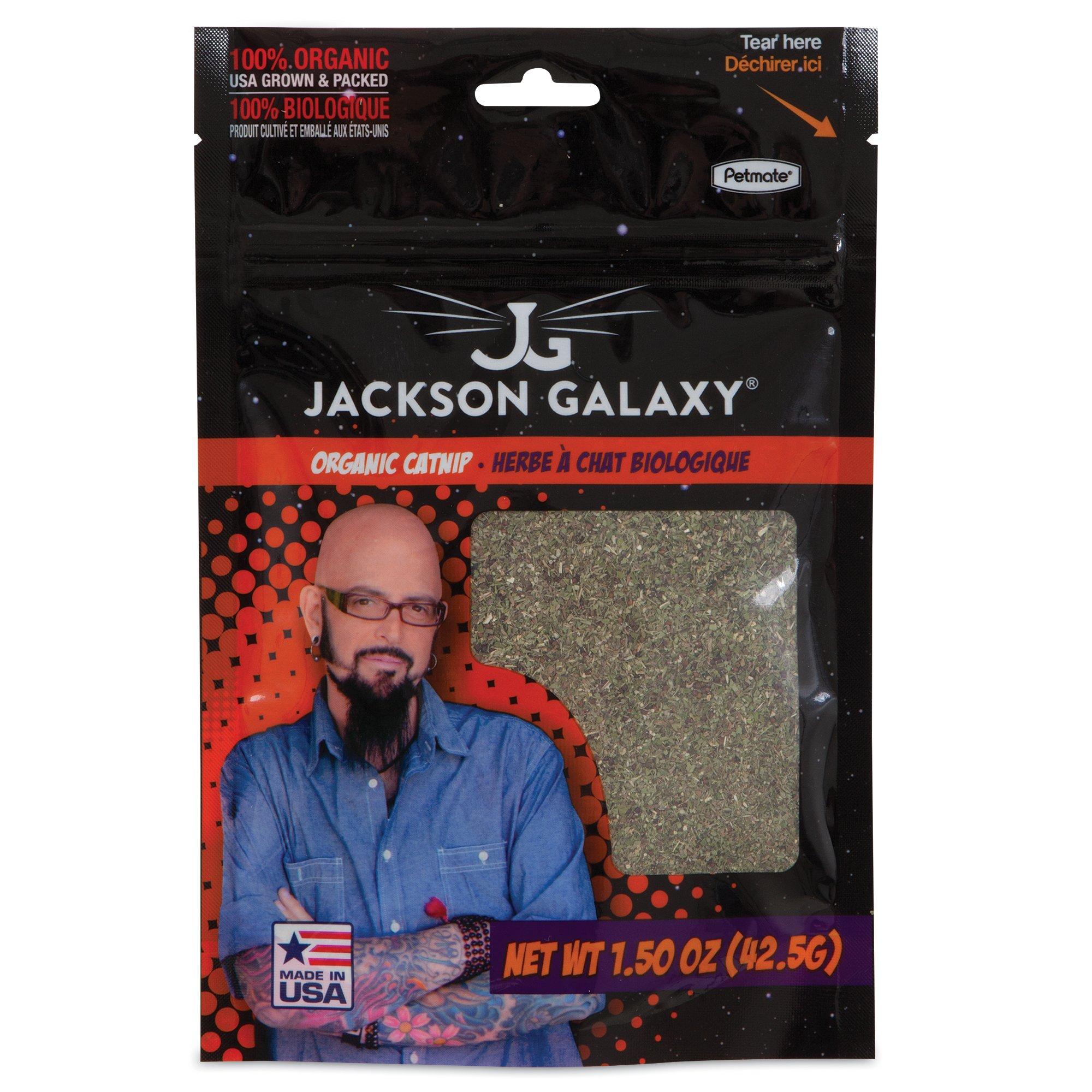 Petmate jackson galaxy organic catnip petco for Jackson galaxy phone number