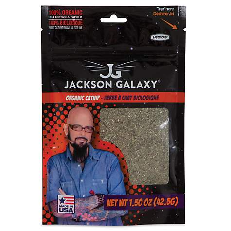 Petmate jackson galaxy organic catnip petco for Jackson galaxy shop