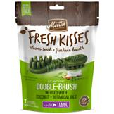 Fresh Kisses Coconut Oil + Botanicals Large Brush Dental Dog Treats