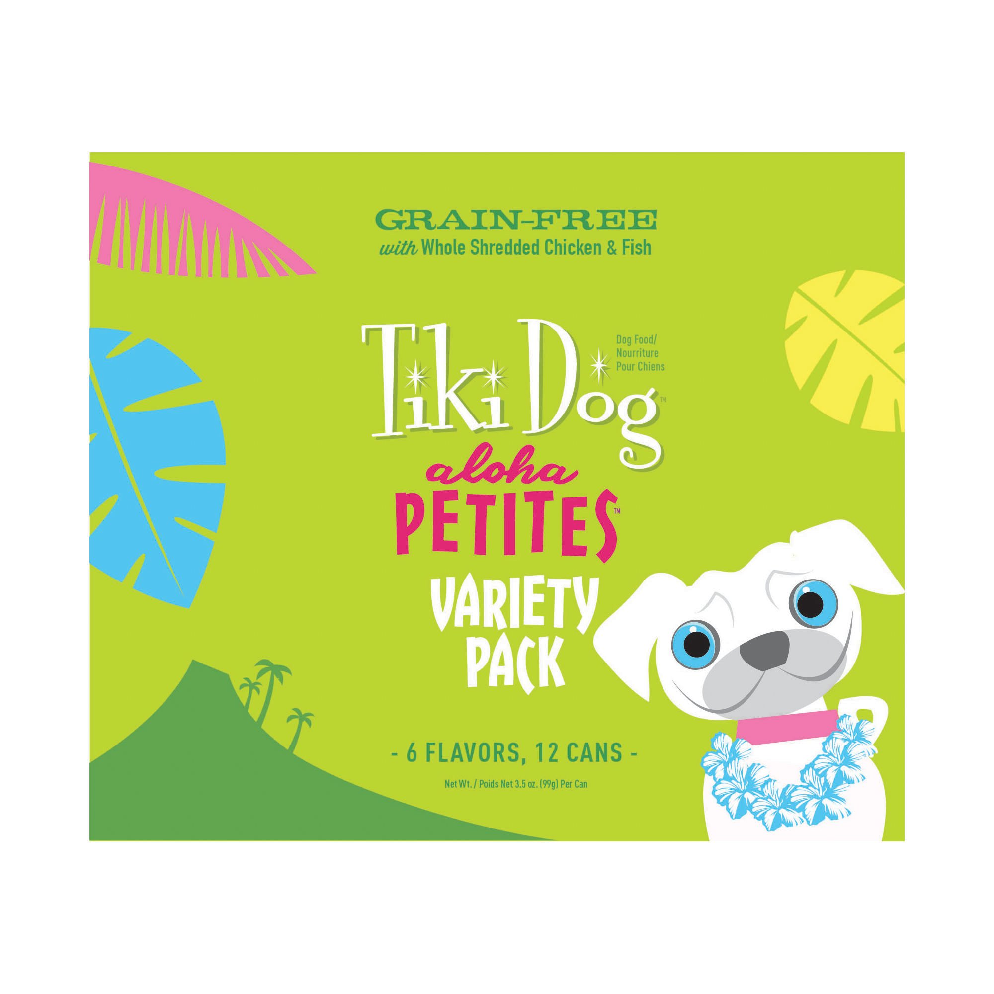 Tiki Dog Aloha Petites Variety Pack Small Breed Wet Dog Food | Petco