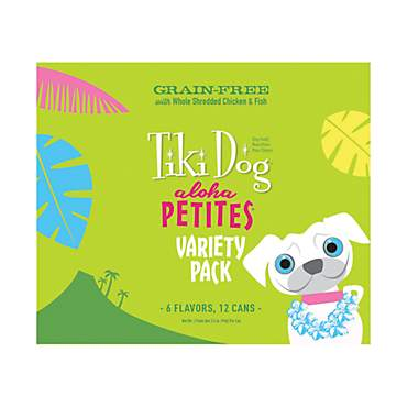 Tiki Dog Aloha Petites Variety Pack Small Breed Wet Dog Food
