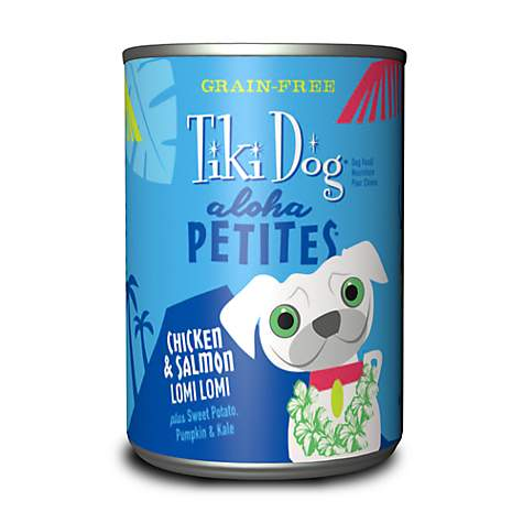 Tiki Dog Aloha Petites Chicken & Salmon Lomi Lomi Small Breed Wet Dog Food