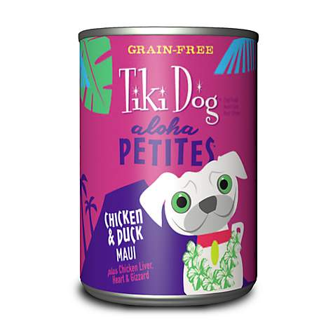 Tiki Dog Aloha Petites Chicken & Duck Maui Small Breed Wet Dog Food