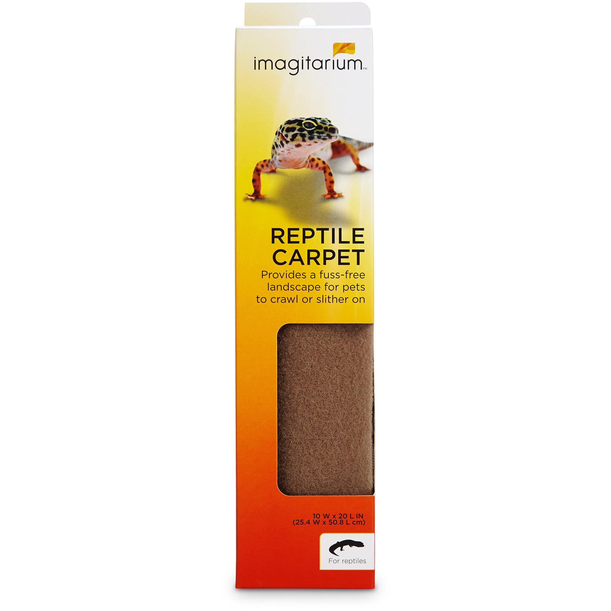 Imagitarium Tan Reptile Carpet, 10