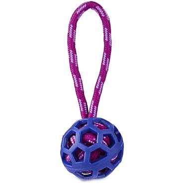 Leaps & Bounds Rope Ball Dog Toy With Handle