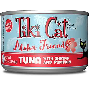 Tiki Cat Aloha Friends Tuna, Shrimp & Pumpkin Wet Cat Food
