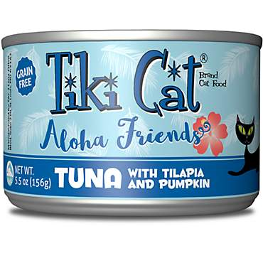 Tiki Cat Aloha Friends Tuna Tilapia & Pumpkin Wet Cat Food