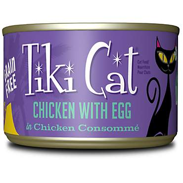 Tiki Cat Koolina Luau Chicken Egg Wet Cat Food