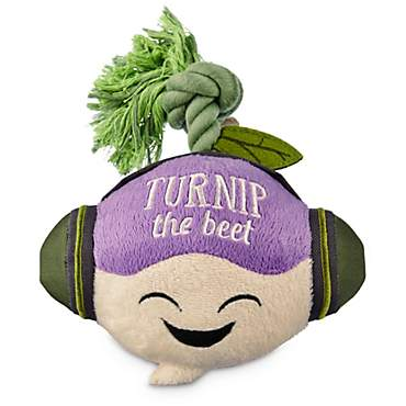 Leaps & Bounds Play Plush Turnip the Beet Dog Toy
