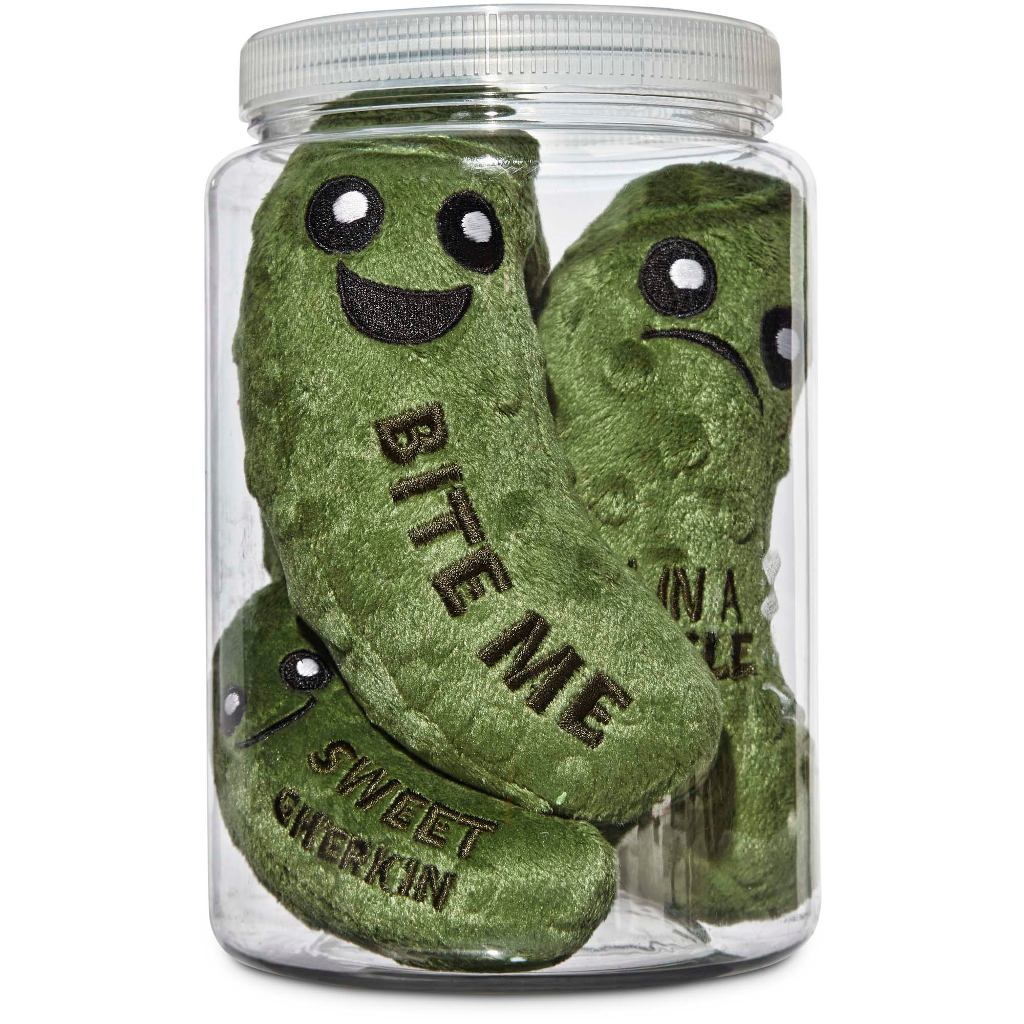 Leaps Amp Bounds Play Plush Pickle Jar Dog Toy Petco