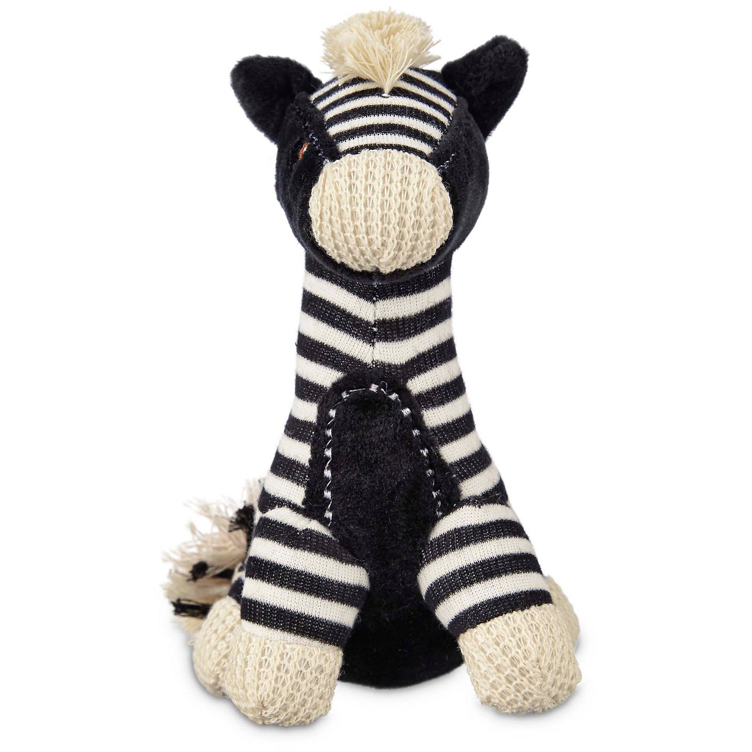 Leaps & Bounds Wildlife Plush Zebra Dog Toy
