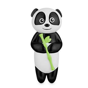 Leaps & Bounds Chomp and Chew Vinyl Panda Dog Toy