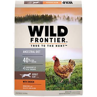 Nutro Wild Frontier Chicken Flavor Dry Adult Cat Food