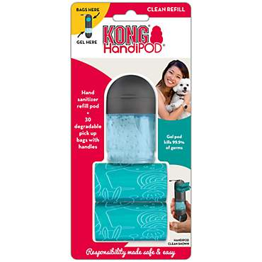 KONG HandiPOD Refill Hand Sanitizer and Bag Rolls