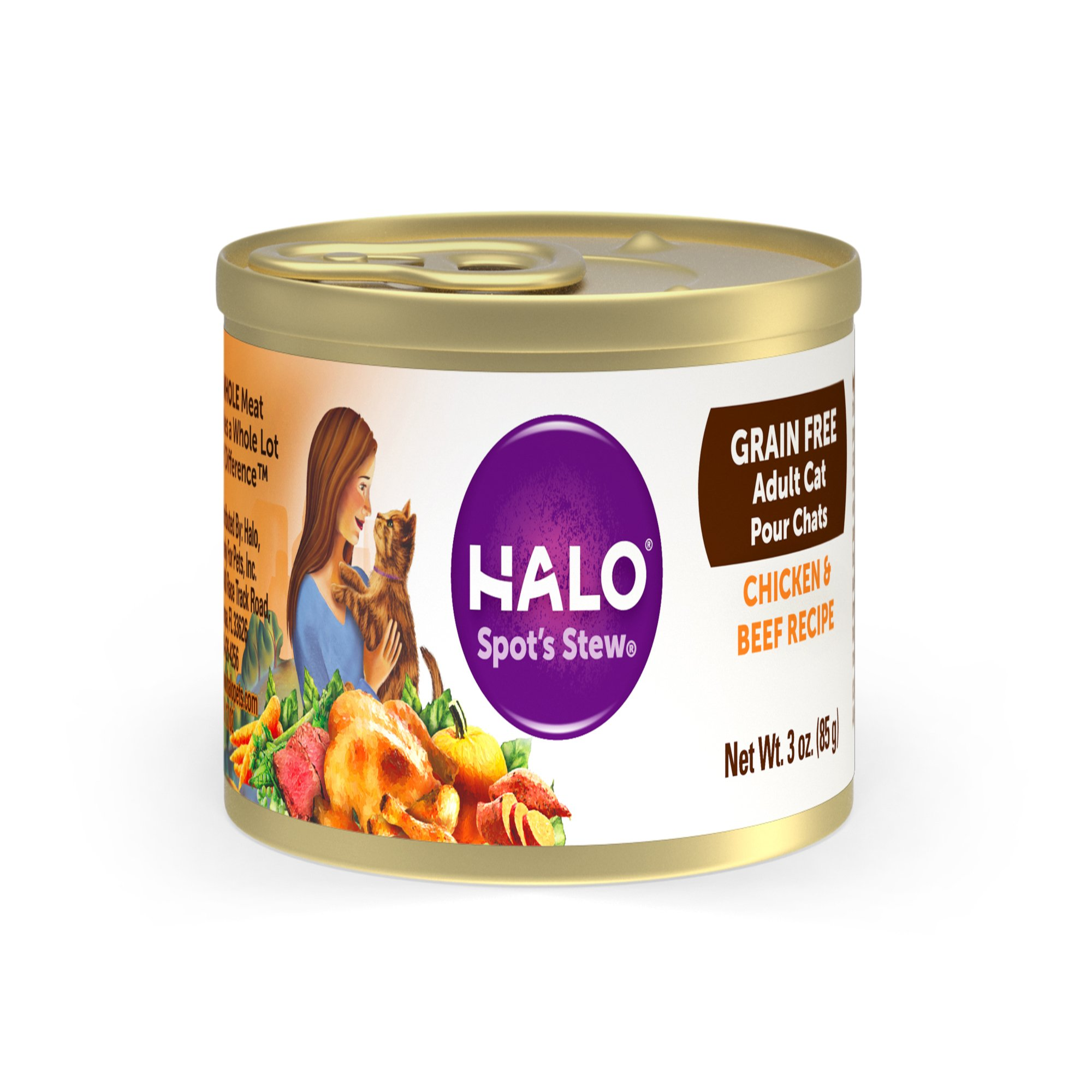 Halo Cat Food Weight Control