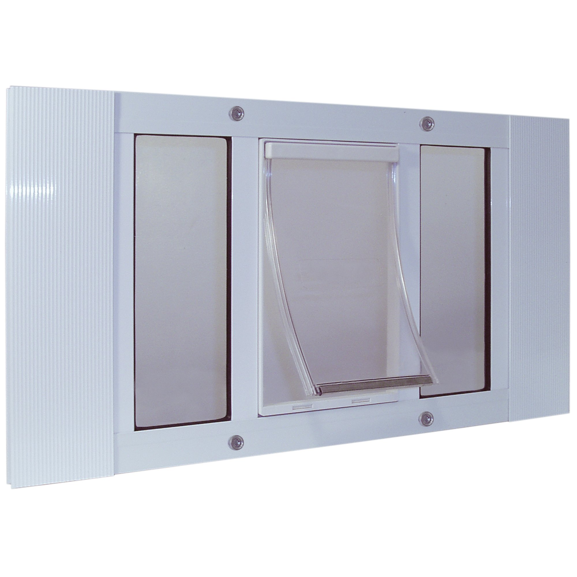 Perfect Pet 23 28 Sash Window Pet Door In White Petco