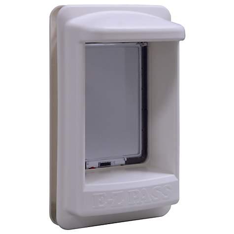 Perfect Pet Ez Pass Electronic Pet Door In White Petco