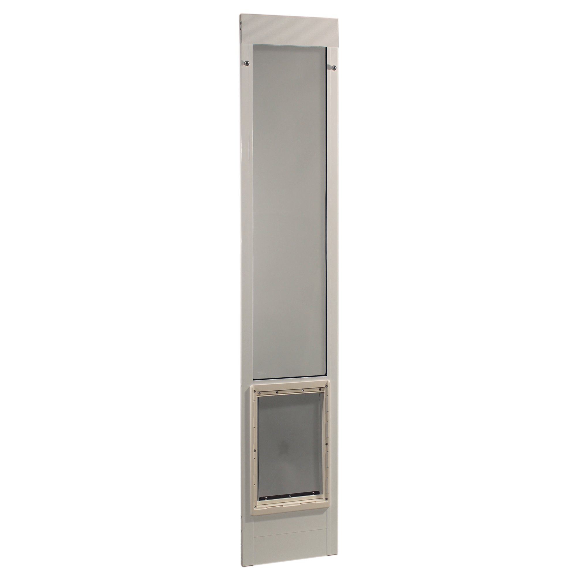 Perfect Pet 96'' Pet Patio Door In White, 15 In X 2in X 93.625in, X Large