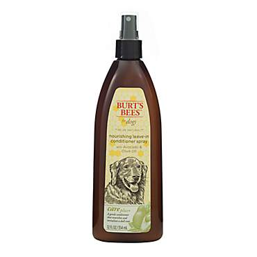 Burt's Bees Care Plus+  Nourishing Avocado & Olive Oil Leave-In Conditioner Dog Spray