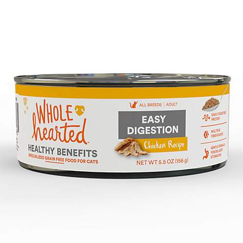 WholeHearted Easy Digestion Chicken Recipe Adult Wet Cat Food