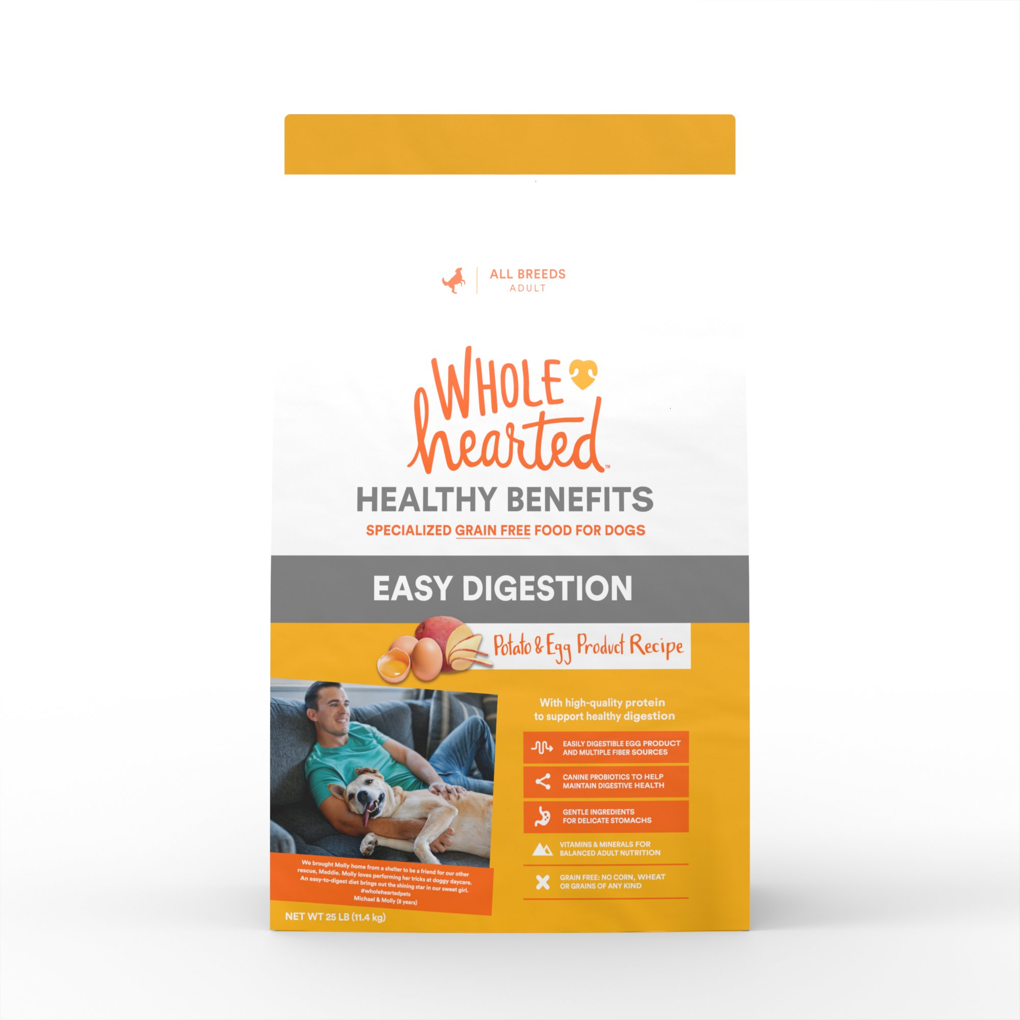 Wholehearted Grain Free Healthy Benefits Easy Digestion Potato And